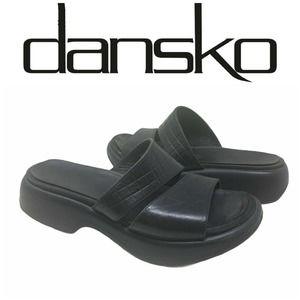 Dansko Women's Sz 37 Leather Sandals Slides